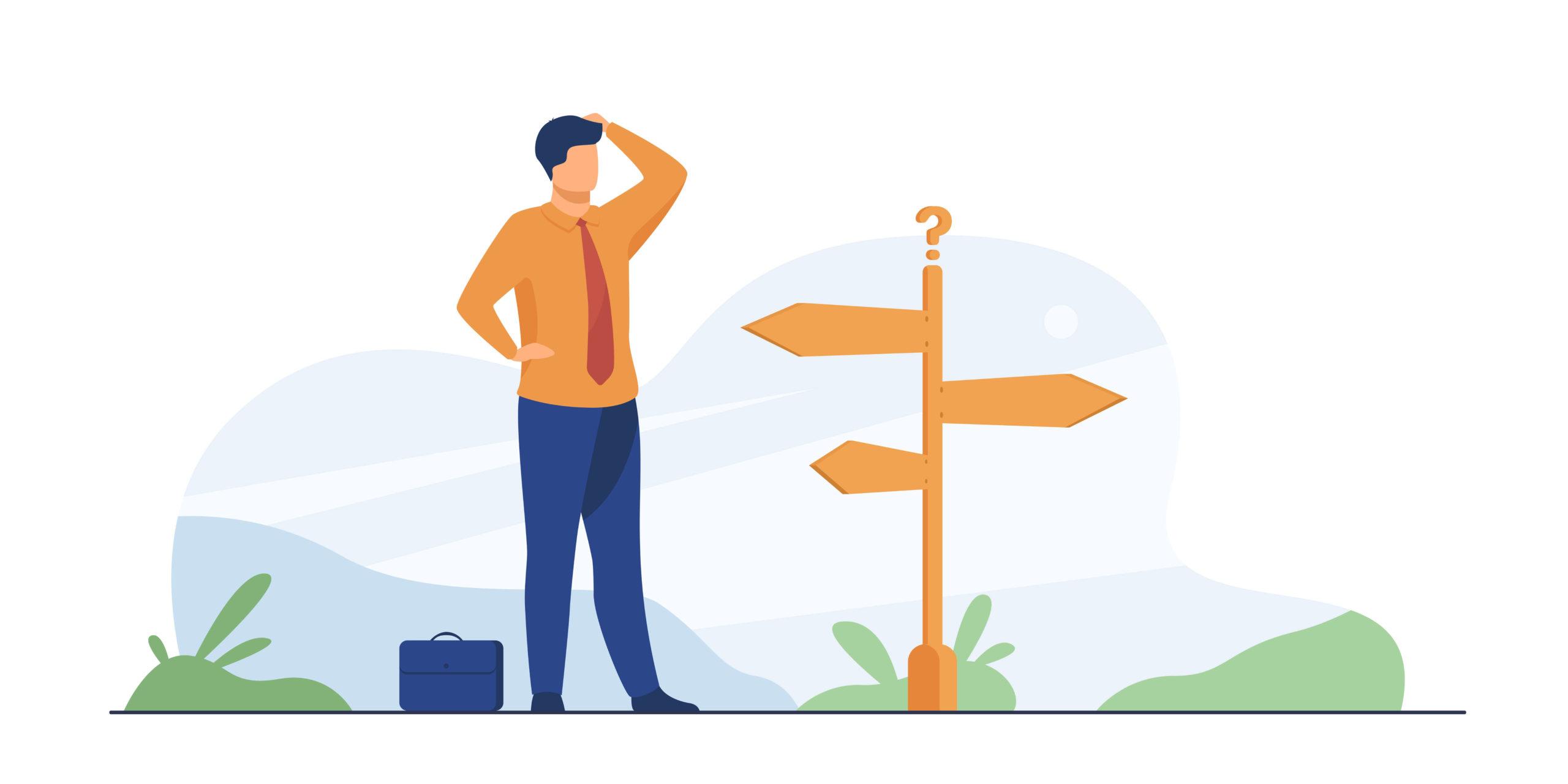 未経験の転職は業種と職種の2つの軸で考える
