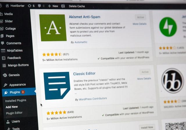 WordPressプラグインを導入する手順